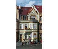 модель Kibri 39101 Townhouse with Turret in Bonn. Размер   10 x 13.5 x 18 см. Набор для сборки.