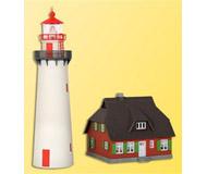 модель Kibri 39153 Lighthouse On Hiddensee -- 7.6 x 20.6 x 22.5 см. Набор для сборки.