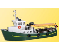 модель Kibri 39158 Canal/River Passenger Boat - Kit. Размер 18.2 x 6.2 x 8.7 см. Набор для сборки.