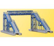 модель Kibri 39301 2-Track Steel Footbridge. Размер  23 x 20 x 12 см. Набор для сборки.