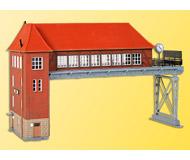 модель Kibri 39310 Hamm Bridge Signal Box -- 28 x 10 x 16.5 см. Набор для сборки.