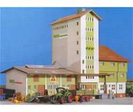 модель Kibri 39408 WLZ Farm Supply Elevator/Warehouse. Размер   35 x 14 x 25 см. Набор для сборки.