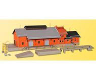 модель Kibri 39462 Freight House w/Loading Dock. Размер 47 x 14 см. Набор для сборки.
