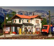 модель Kibri 39496 Станция Майенфельд, со светодиодным освещением. Размер 27 х 12 х 12 см.