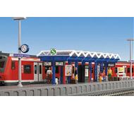 модель Kibri 39563 Modern German Subway (S-Bahn) Stop Nurnberg Street