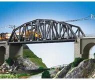 модель Kibri 39700 Steel Elbow Bridge w/o Bridgeheads -- Single Track 45 x 8 x 11.5 см. Набор для сборки.