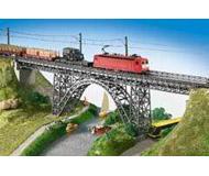 модель Kibri 39704 Cathedral Valley - Steel Girder Viaduct Bridge -- Single Track 67.5 x 6.5 x 16.5 см. Набор для сборки.