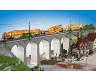 модель Kibri 39724 Stone Viaduct - Kit -- Single Track. Размер 63 x 8 x 17 см. Набор для сборки.