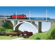 модель Kibri 39740 Prestressed Concrete Bridge -- Single Track 64 x 7 x 12 см. Набор для сборки.