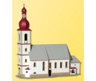 модель Kibri 39770 Church in Ramsau. Размер   30 x 11 x 30 см. Набор для сборки.