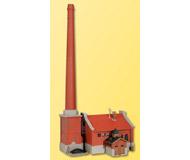 модель Kibri 39821 Boiler House w/Chimney. Размер   18 x 15 x 37 см. Набор для сборки.