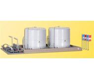 модель Kibri 39832 Twin Fuel Storage Tanks -- 26 x 15 x 13 см. Набор для сборки.