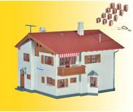 модель Kibri 48816 Casanna House w/LED Lighting Starter Set -- Kit. Размер 14.2 x 14 x 10 см. Набор для сборки.