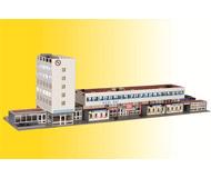 модель Kibri 49514 Kehl Train Station w/Floor-Moount LED Lighting -- Kit. Размер   66 x 14.5 x 19 см. Набор для сборки.