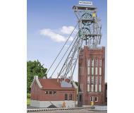 модель Kibri 49845 Mine Head Tower w/Powerhouse & Drive -- Kit. Размер   30 x 12 x 37 см. Набор для сборки.