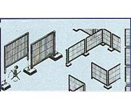 модель Kibri 58225 Забор сетчатый 125 см HO