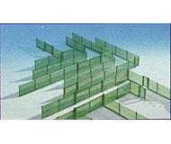 модель Kibri 58603 Забор зеленый сетчатый 3 м HO