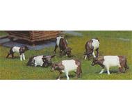 модель Kibri 8118 6 коров