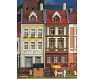 модель Kibri 8383 Дом на Ballhausplatz в G?rlitz, 13,5х12х18,9  см. Набор для сборки.