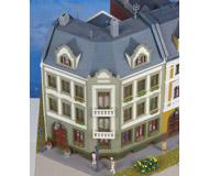 модель Kibri 8385 Угловой дом Elbenplatz, 16x16,8x18 cm.