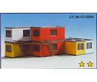 модель Kibri 8627 6 строительных контейнеров-бытовок