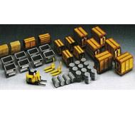 модель Kibri 8647 Поддоны, тара и бочки.