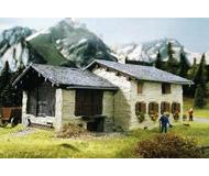 модель Kibri 8809 Дом Palu в Grevasalvas, 17х12х7,5  см. Набор для сборки.