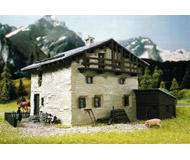 модель Kibri 8812 Дом Sils в Grevasalvas, 16х13х10  см. Набор для сборки.
