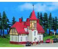 модель Kibri 9002 Белая церковь с красной крышей