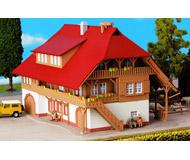 модель Kibri 9097 Фермерский дом, 20,5х15х15,5  см. Набор для сборки.
