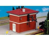 модель Kibri 9327 Водонапорная башня с краном. размер 12 х 9 х 11 см