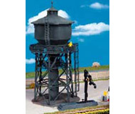 модель Kibri 9328 Водонапорная башня, d 11, h 24  см. Набор для сборки.