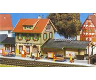 модель Kibri 9507 Станция Dettingen, 34 х12х15  см. Набор для сборки.