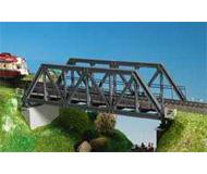 модель Kibri 9701 Металлический мост с ездой понизу, 27,5x8x7,5 cm.
