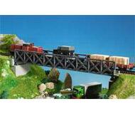 модель Kibri 9702 Металлический мост с ездой понизу, 38,5x6,5x5,5 cm.