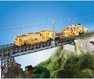 модель Kibri 9707 Стальной однопутный мост с ездой по верху 33,5 x 6,5 x 2,8