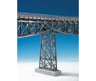 модель Kibri 9753 Центральная ажурная стальная опора для мостов высота 14 см. подходит для мостов 9703 и 9707