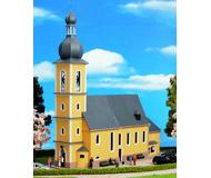 модель Kibri 9767 Церковь St. Marien, 30х11х30  см. Набор для сборки.