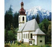 модель Kibri 9770 Церковь в Ramsau , 30х11х30  см. Набор для сборки.