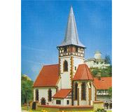 модель Kibri 9772 Деревенская церковь , 22х14,5х28  см. Набор для сборки.