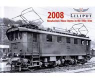 модель Liliput L020080 Каталог Liliput 2008 (H0, H0e) на немецком языке