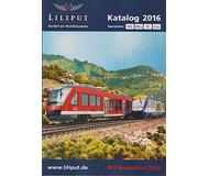 модель Liliput L020150 Каталог Liliput 2015/2016 (масштабы H0, H0e, N, G), на немецком языке