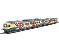 модель Liliput L114424 Электропоезд ET10.108 (из вагона RBDe4/4 и вагона Abt) для Sudostbahn. Принадлежность Частная жд. Эпоха V