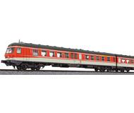 модель Liliput L133151 Трехвагонный дизельпоезд BR 614/914. Принадлежность  DB. Эпоха IV