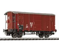 модель Liliput L224762 Крытый вагон с тормозной будкой, тип K2. Принадлежность BLS. Эпоха III