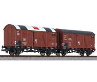 модель Liliput L230138 Набор из двух вагонов Красного креста. Принадлежность  DRB