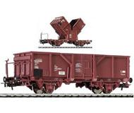 модель Liliput L235075 Вагон с опрокидывающимися кузовами, тип El-u 510 2 039-7 m.Brb. Принадлежность DB. Эпоха IV