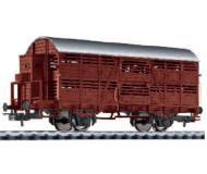 модель Liliput L235110 Вагон для перевозки скота, с тормозной будкой, тип V 859 902 (tm)BB. Принадлежность OBB. Эпоха III