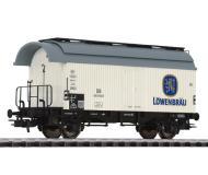 модель Liliput L235113  Вагон для перевозки пива Lowenbrau. Принадлежность DB. Эпоха III
