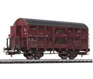 модель Liliput L235119  Вагон для перевозки скота, с тормозной будкой, V 23-01-34. Принадлежность DR. Эпоха III